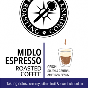Midlo Espresso Blend – med/dark roast